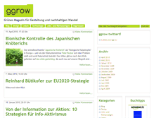 Tablet Preview of ggrow.de
